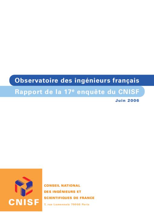 Enquête Nationale 2006