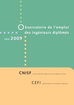Enquête Nationale 2009
