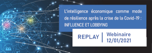 Webinaire Intelligence Economique : Influence et Lobbying